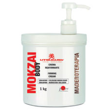 Utsukusy Body Firming Cream aus der Körperpflegelinie Mokzai ist ideal für die Behandlung von Cellulite und schlaffe Haut