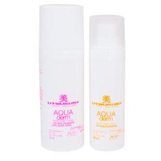 Aqua Derm Set - Sommer Tagespflege Set   Creme und Serum von Utsukusy Cosmetics