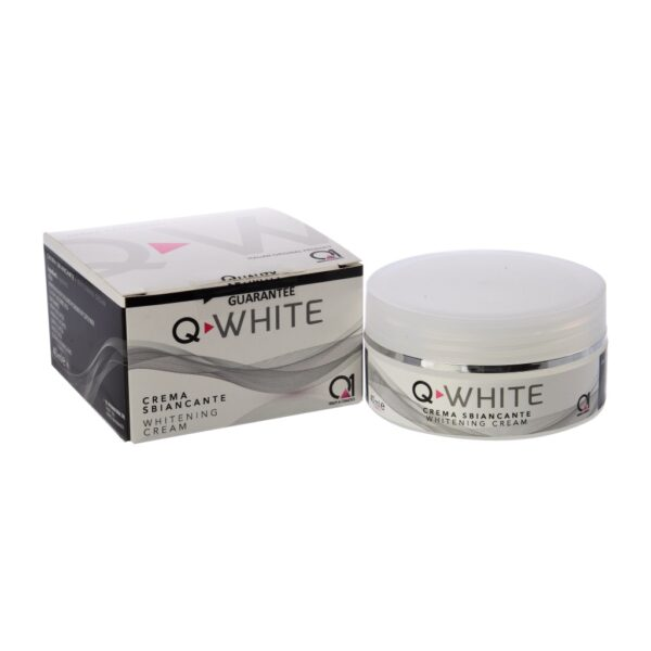 Q-WHITE Creme - aufhellende Gesichtscreme